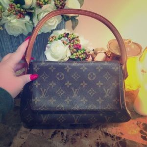 Louis Vuitton authentic mini looping bag